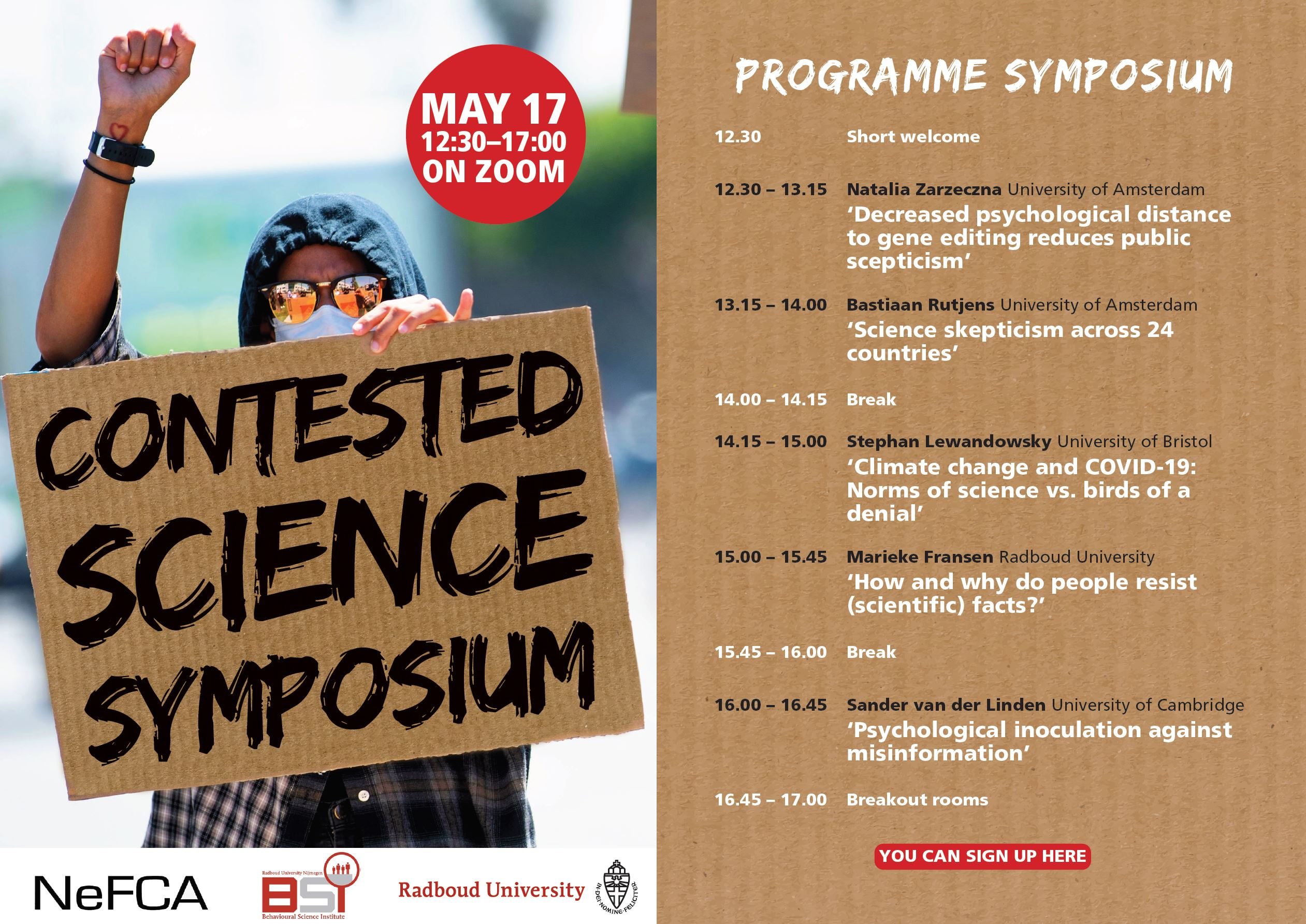 (Online) Symposium: Contested Science